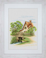 Summer Landscape Cross Stitch Kit By Luca S