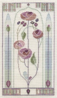 Mackintosh - Oriental Rose Cross Stitch Kit