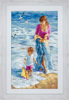 Precious Moment Cross Stitch Kit By Luca S