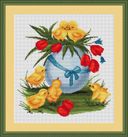 Easter Cross Stitch Kit By Luca S