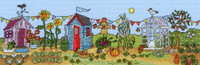 Allotment Fun Cross Stitch Kit By Bothy Threads