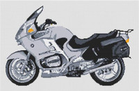 Bmw R1150Rt 2004 Motorcycle Cross Stitch Kit By Stitchtastic