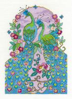 Peacocks Cross Stitch Kit By Dmc