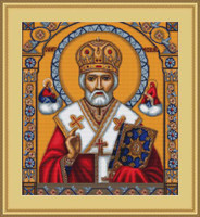 St. Nicholas Cross Stitch Kit By Luca S