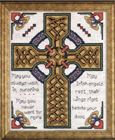 Celtic Cross Cross Stitch Kit By Design Works