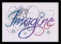 Imagine Cross Stitch Kit By Design Works