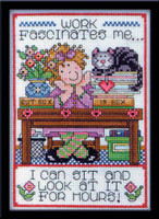 Work Cross Stitch Kit By Design Works