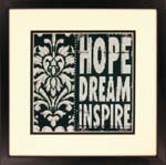 Words To Inspire Cross Stitch Kit By Dimensions