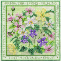 Four Seasons - Spring Cross Stitch Kit