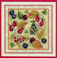 Four Seasons - Autumn Cross Stitch Kit
