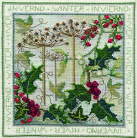 Four Seasons - Winter Cross Stitch Kit