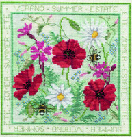 Four Seasons - Summer Cross Stitch Kit
