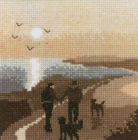 Morning Walk Cross Stitch Kit
