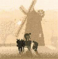 Windmill Cross Stitch Kit