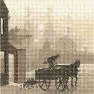 The Coal Man Cross Stitch Kit