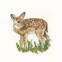 Fawn Cross Stitch Kit For Beginners