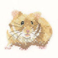 Hamster Cross Stitch Kit For Beginners