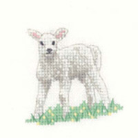 Lamb Cross Stitch Kit For Beginners