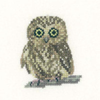 Owl Cross Stitch Kit For Beginners