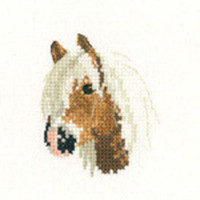 Palomino Pony Cross Stitch Kit For Beginners