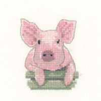 Pig Cross Stitch Kit For Beginners