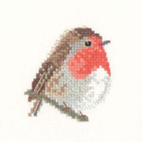 Robin Cross Stitch Kit For Beginners