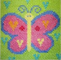 Butterfly Starter Cross Stitch Kit