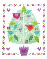 Tree Of Love Cross Stitch Kit