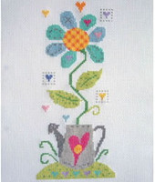 Crazy Daisy Cross Stitch Kit