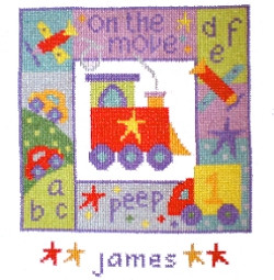 On The Move Cross Stitch Kit
