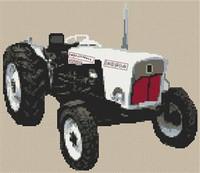 David Brown Tractor Cross Stitch Kit