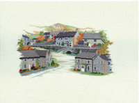 Derbyshire Village Cross Stitch Kit