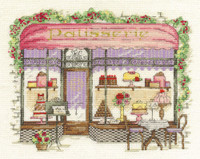 Patisserie Cross Stitch Kit By Dmc