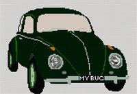 Volkswagen Beetle Cross Stitch Kit