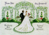 From This Day Forward Cross Stitch Kit By Janlynn