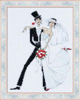 Wedding Tango Cross Stitch Kit