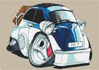 Bmw Bubble Car Cross Stitch Chart