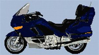 Bmw K1200Lt Motorcycle Cross Stitch Chart
