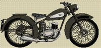 Bsa D3 Bantam 1948 Cross Stitch Chart