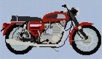 Bsa Rocket 3 1969 Motorcycle Cross Stitch Chart