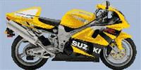 Suzuki Tl 1000R Motorbike Cross Stitch Chart