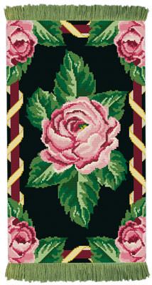 Avignon Rug/ Wall Hanging Cross Stitch Kit