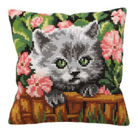 Minou Chunky Cross Stitch Kit