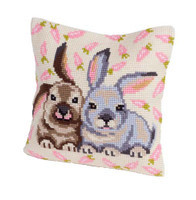 Flopsy And Mopsy Chunky Cross Stitch Cushion Kit