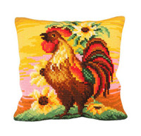 Top Brass Chunky Cross Stitch Cushion Kit