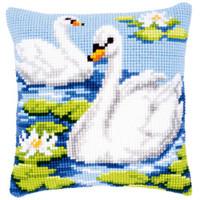 Lake Swans Chunky Cross Stitch Kit