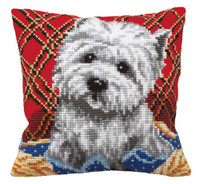 Bichon Chunky Cross Stitch Kit
