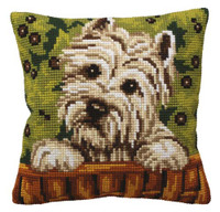 Westy Chunky Cross Stitch Kit