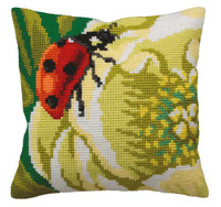 Coccinelle Chunky Cross Stitch Cushion Kit