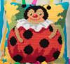 Colombine Chunky Cross Stitch Kit